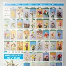 Carteles: CARTEL MERCABARNA, MERCAT CENTRAL DE LA FLOR, BARCELONA, 1992 (3). 70X49 CM.. Lote 191334457