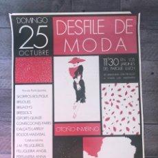 Carteles: CARTEL DESFILE DE MODA. Lote 193079616