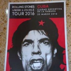 Carteles: ROLLING STONES, CARTEL CHÉ GUEVARA, CONCIERTO CUBA, UNA JOYA!!!. Lote 193557990