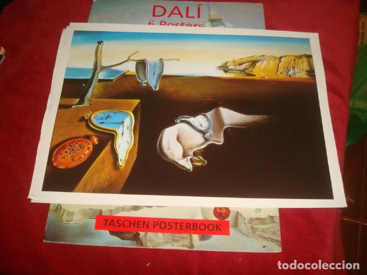Carteles: POSTERBOOK DALI 4 POSTERS LAMINA 31X44 IDEAL PARA ENMARCAR - Foto 2 - 194238168