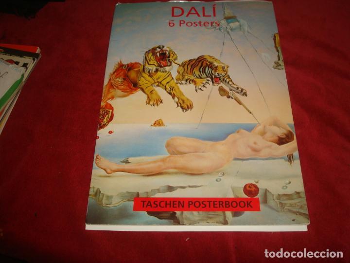 POSTERBOOK DALI 4 POSTERS LAMINA 31X44 IDEAL PARA ENMARCAR (Coleccionismo - Carteles Gran Formato - Carteles Varios)