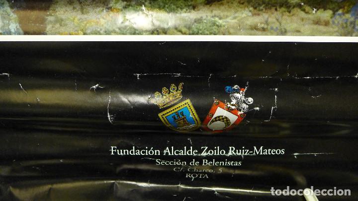 Carteles: CARTEL DE LA NAVIDAD DE 1998 DE LA FUNDACION ALCALDE ZOILO RUIZ-MATEOS SECCION DE BELENISTAS - Foto 4 - 194245455