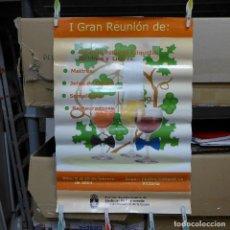 Carteles: CARTEL DE LA I GRAN REUNION EN EL CENTRO CULTURAL LA VICTORIA SANLUCAR DE BARRAMEDA 2004. Lote 194296073