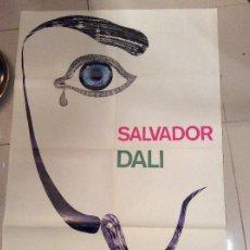 Carteles: 1967 CARTEL SALVADOR DALI GALERIE D PHAHA Y LIBRO. Lote 194338781
