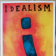 Carteles: IDEALISM - CARLOS OLIVER - ART AND PROPAGANDA - EUROPEAN ENDOWMENT FOR THE ARTS -1992. Lote 194350890