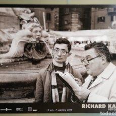 Carteles: RICHARD KALVAR - 2008 - CARTEL EXPOSICIÓN EN PALMA (MALLORCA) - 67 CM X 49 CM. Lote 194355190