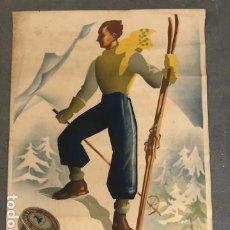 Carteles: CARTEL PUBLICIDAD - GRASA FOCA - ILUSTRADO POR MORELL. Lote 194513160
