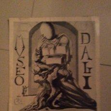 Carteles: CARTEL AUTÉNTICO INAGURACION MUSEO SALVADOR DALI. Lote 194709555