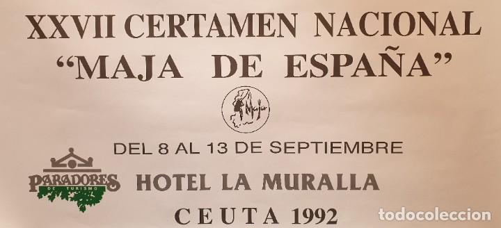 Carteles: Cartel Certamen Nacional Maja de España 1992 - Foto 3 - 194714448
