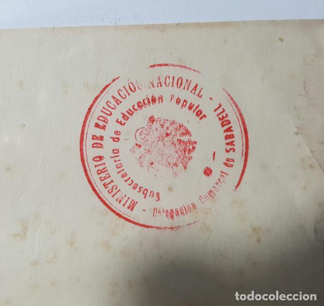 Carteles: CARTEL SEGUNDO CONCURSO DE FOTOGRAFIAS DE LA COMARCA DEL VALLES, CENTRO EXCURSIONISTA, SABADELL 1946 - Foto 2 - 194769710