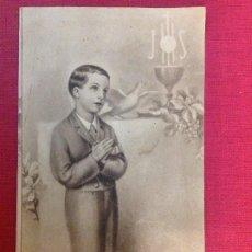 Carteles: ANTIGUO CARTELITO RELIGIOSO. OBRAS DEL OBISPO DE CORDOBA FRAY ALBINO. Lote 194962862
