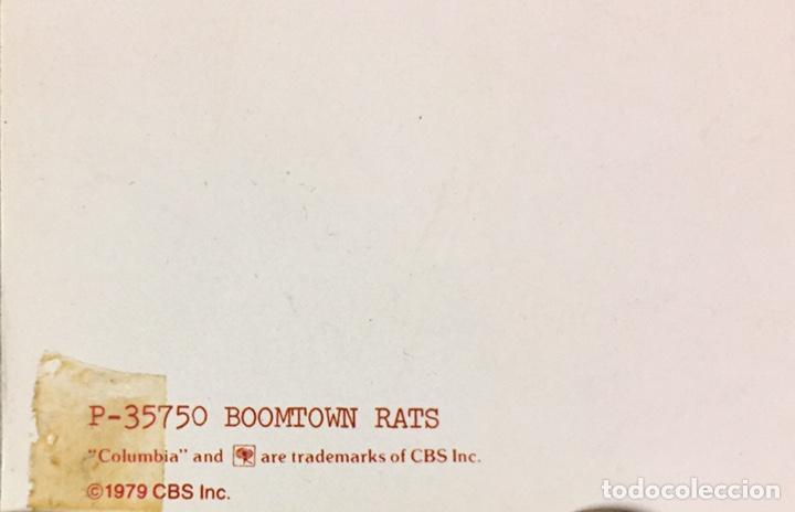Carteles: Póster publicitario The Boomtown Rats. 1979. Original - Foto 2 - 195053786