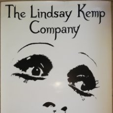 Carteles: THE LINDSAY KEMP COMPANY - 100 CM X 70 CM - AÑO 1981. Lote 195152607