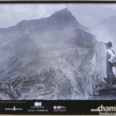 Carteles: MARTÍN CHAMBI, FOTÓGRAFO - CARTEL DEL AÑO 2007 - 48 CM X 63,5 CM - CASAL SOLLERIC - PALMA (MALLORCA). Lote 195152872
