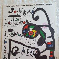 Carteles: JOAN MIRÓ. EL PI DE FORMENTOR. Lote 195265421