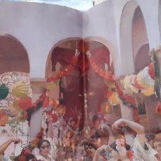 Carteles: COLORIDO CARTEL EXPOSICIÓN SOROLLA VISIÓN DE ESPAÑA SEVILLA 2008 MUSEO BELLAS ARTES BANCAJA . Lote 195463383