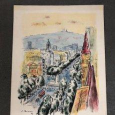 Carteles: CARTEL / POSTER - FERIA DEL LIBRO DE OCASIÓN ANTIGUO Y MODERNO - BARCELONA 1986. Lote 195484536