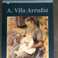 Carteles: CARTEL / POSTER - A.VILA ARRUFAT - GENERALITAT DE CATALUNYA - BARCELONA 1995. Lote 195484697