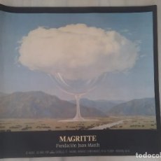Carteles: MAGRITTE. JUAN MARCH MADRID 1989. Lote 195549721