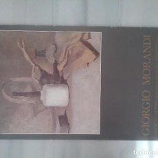 Carteles: GIORGIO MORANDI. FUNDACIÓN CAJA DE PENSIONES. MADRID 1985. Lote 195551760