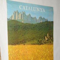 Carteles: POSTER - CATALUNYA (GENERALITAT DE CATALUNYA - DIRECCIO GENERAL DE TURISME). Lote 198952325