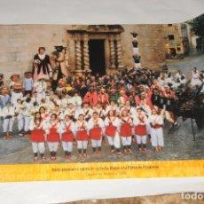 Carteles: POSTER -CARTEL -FIESTA MAYOR DE CALDES DE MONTBUI - AÑO 2000. Lote 198953897