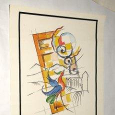 Carteles: POSTER -CARTEL - LES ARTISANS DU COMMINGES (TOULOUSE-PYRENÉES) AÑO 1992- GENERALITAT DE CATALUNYA. Lote 199001713