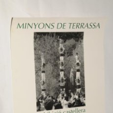 Carteles: POSTER - CARTEL - EXHIBICIO CASTELLERA A SANT FELIU CODINES (MINYONS DE TERRASSA). Lote 199095988