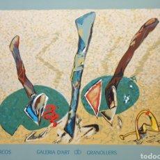 Carteles: BENITO MARCOS SERIGRAFÍA MAMAGRAF BCN. Lote 199584955