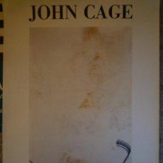 Carteles: JOHN CAGE. ESPAI POBLENOU. 1991. Lote 201334503