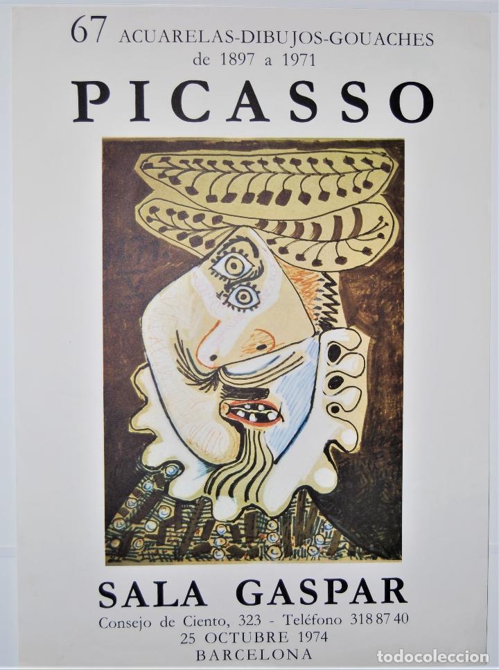 PICASSO CARTEL (Coleccionismo - Carteles Gran Formato - Carteles Varios)