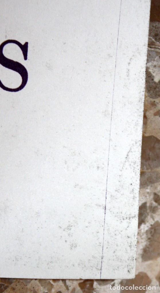 Carteles: CARTELL 1es JORNADES DE LA DONA AL PAÍS VALENCIÀ (DESEMBRE 1977). 43,5 CM X 31,5 CM - Foto 4 - 202943432