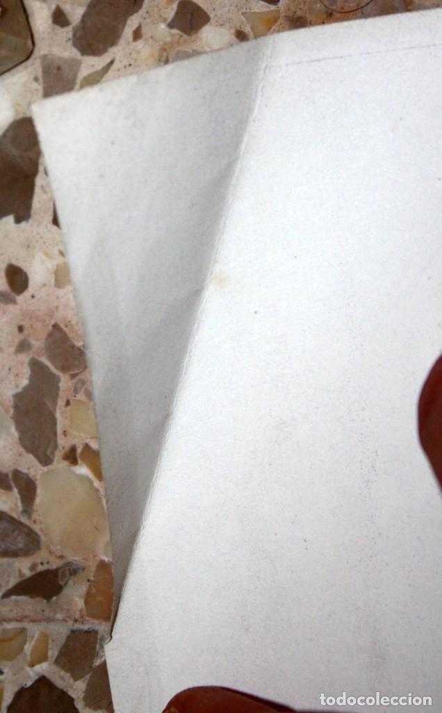 Carteles: CARTELL 1es JORNADES DE LA DONA AL PAÍS VALENCIÀ (DESEMBRE 1977). 43,5 CM X 31,5 CM - Foto 5 - 202943432