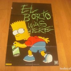 Carteles: POSTER DE BART SIMPSON . 86 X 52 CM. 20TH CENTURY FOX. Lote 204332936