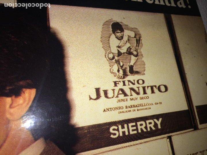 Carteles: FINO JUANITO - GRAN CARTEL DE CARTON - ÚNICO EN TODOCOLECCIÓN - 68 X 48 CMS. - Foto 6 - 206943828