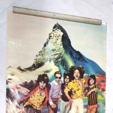 Carteles: THE ROLLING STONES CARTEL TOUR OF EUROPE AÑO 1976. MED. 70 X 98 CM. Lote 208116891