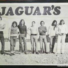 Carteles: CARTEL DEL CONJUNTO MUSICAL JAGUAR'S 1972.MIDE 100X70CMS. Lote 210546551