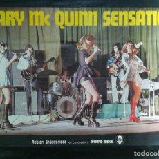 Carteles: CARTEL DEL CONJUNTO MUSICAL MARY MC QUINN SENSATION. 1976.MIDE 92X64CMS. Lote 210547292