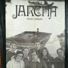 Carteles: CARTEL DEL CONJUNTO MUSICAL JARCHA 1974..MIDE 100X68CMS. Lote 210548115