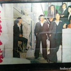 Carteles: CARTEL DEL CONJUNTO MUSICAL ESCORPIONES 1975.MIDE 100X68CMS. Lote 210552782