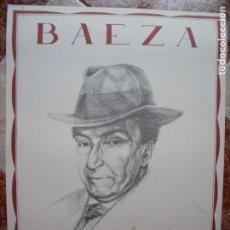Carteles: ANTONIO MACHADO.-ZINCOGRAFIA.-DIBUJO CRISTOBAL.-GRAFICAS DEL SUR.-SEVILLA.-MEDIDAS DE 70 X 50 .-1989. Lote 210617873