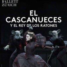 Carteles: EL CASCANUECES Y EL REY DE LOS RATONES. Lote 212385163