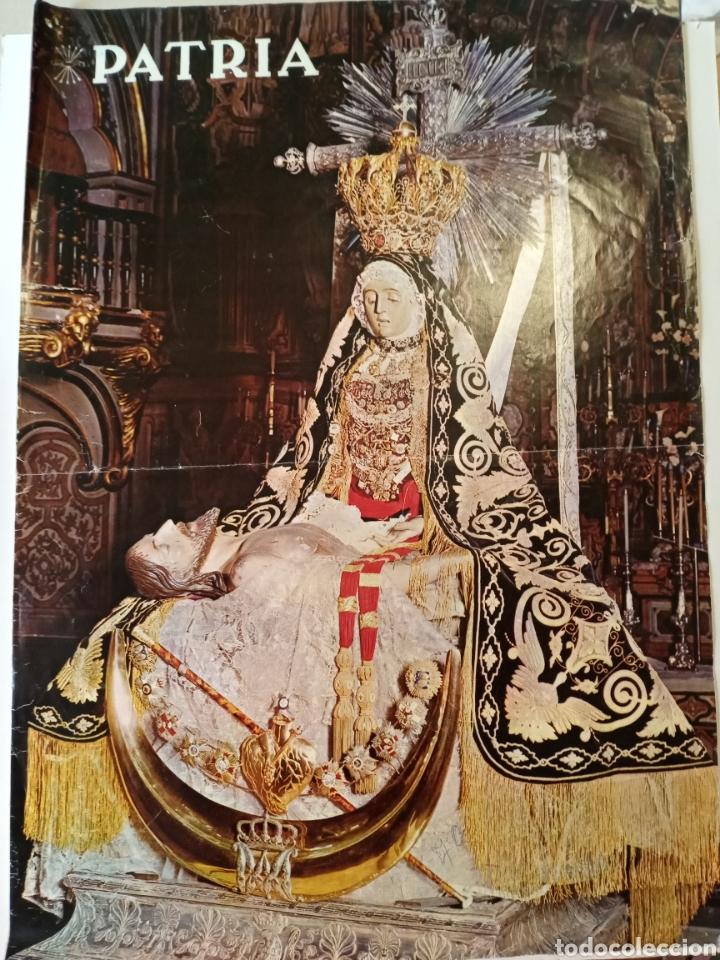 Carteles: Cartel Patria 1970 Virgen de la Angustias Puleva Bonal - Foto 2 - 215098512