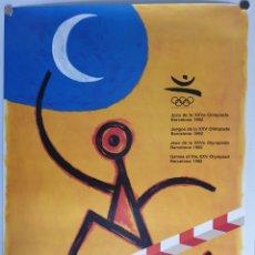 Affissi: CARTEL OLIMPIADAS BARCELONA 92/PERET. Lote 216970163