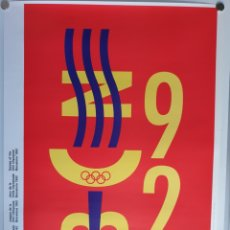 Carteles: CARTEL OLIMPIADAS BARCELONA 92 /QUIM NOLLA. Lote 216970397