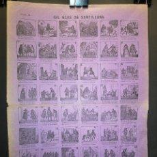 Affiches: AUCA - ALELUYA - GIL BLAS DE SANTILLANA - 32 X 44 CM - PRINCIPIOS SIGLO XX. Lote 217523881