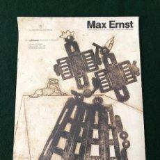Carteles: POSTER - CARTEL -MUSEU PICASSO - LUFTHANSA PROMOCIO CULTURAL - MAX ERNST. Lote 218619360