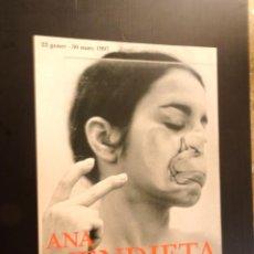 Carteles: POSTER - CARTEL - ANA MENDIETA - FUNDACIO ANTONI TAPIES - 1997. Lote 218802733