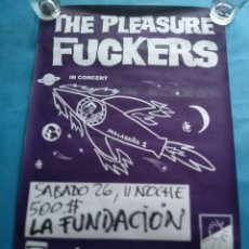 Affiches: CARTEL PLEASURE FUCKERS. MALASAÑA PUNK. KIKE TURMIX.. Lote 218818736