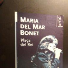 Carteles: CARTEL - POSTER - MARIA DEL MAR BONET A LA PLAÇA DEL REI. Lote 218818926